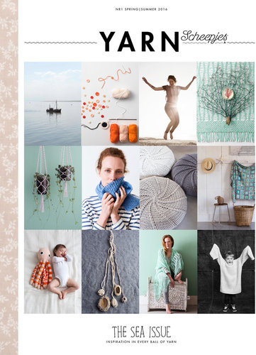 Scheepjes YARN Bookazine Nr.1 The Sea NL