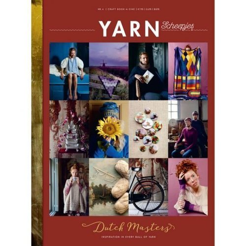 Scheepjes YARN Bookazine Nr.4 The Dutch Masters NL