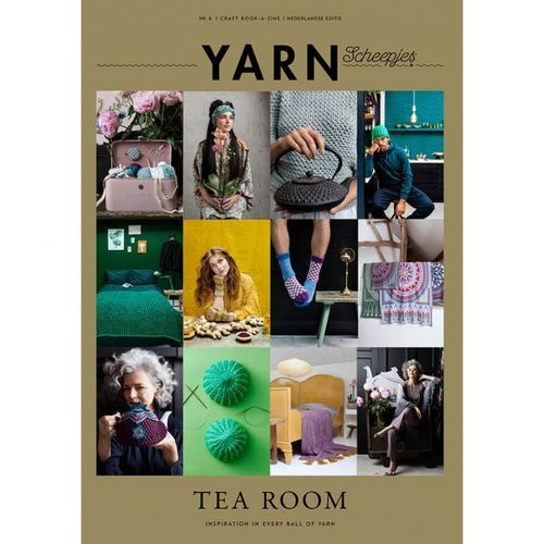 Scheepjes YARN Bookazine Nr.8 Tea Room NL