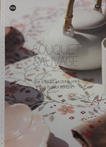 Boek Bouquet Sauvage Wild Flower