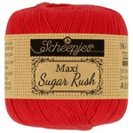 Scheepjeswol Maxi Sugar Rush - kleur 115 - Hot Red
